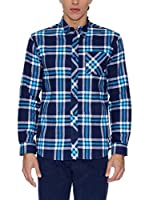 THE INDIAN FACE Camisa Hombre (Azul)