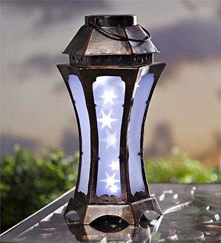 Metal Sparkling Lights Solar Lantern