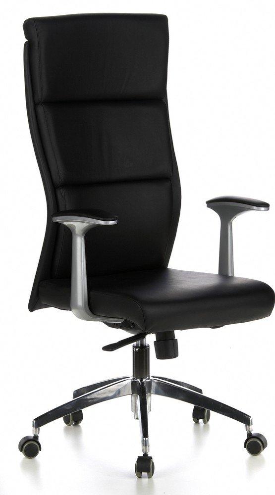 HJH OFFICE 600400 Bürostuhl / Chefsessel Monza 20, schwarz  Überprüfung und Beschreibung