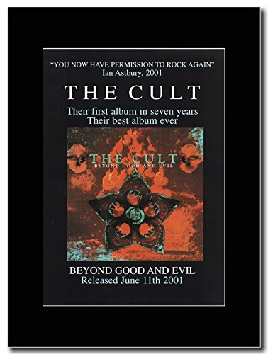 Beyond The Cult-Good Evil Magazine & Promo su un supporto, colore: nero