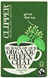 Clipper Organic Green Chai 20 Teabags (Pack of 6, Total 120 Teabags)