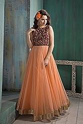 Divine Fab Women's Cotton Unstitched Dress Material (Divine Fab_10_Beige_Free Size)