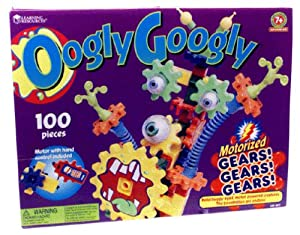 Learning Resources Gears! Gears! Gears! Oogly Googly (Set of 100)