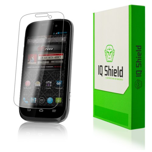 Iq Shield Liquidskin - Zte Awe Screen Protector - High Definition (Hd) Ultra Clear Phone Smart Film - Premium Protective Screen Guard - Extremely Smooth / Self-Healing / Bubble-Free Shield - Kit Comes With Retail Packaging And 100% Lifetime Replacement Wa