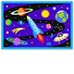 Kids Printed Rug - Out of this World...
