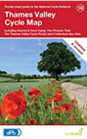 Thames Valley Cycle Map (Pocket Sized Guide to the National Cycle Network)