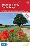 Sustrans Thames Valley Cycle Map (Pocket Sized Guide to the National Cycle Network)