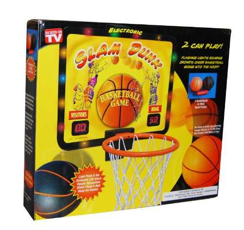 Slam Dunk Basketball Game (Basketball Hoop Electronic compare prices)