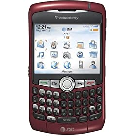 BlackBerry Curve 8310 Smartphone Red (AT&T)