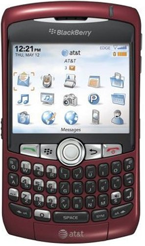 BlackBerry Curve 8310 Phone, Red (AT&T)