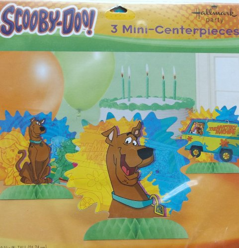 Scooby Doo 3 Mini Centerpiece - 1