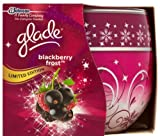 Glade Blackberry Frost Limited Edition Scented Candle 120g - 30 Hours
