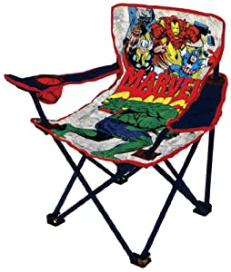 Marvel Avengers Youth Folding Chair with Armrest and Cup Holder by Marvel