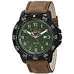 Timex Men's T499969J Expedition Camper Trail Analog Display Analog Quartz Brown Watch
