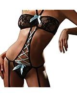 MAKIYO sexy lingerie , soutien - gorge ensemble culottes en boucle ,lingerie sexy šŠrotique ouverte lingerie coquine