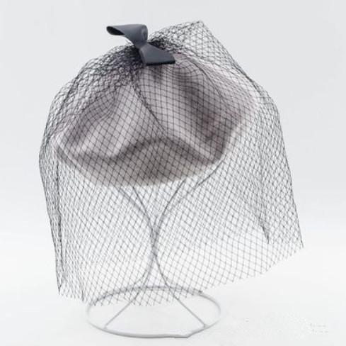 femmes-automne-hiver-simplicite-laine-feute-cozy-chapeau-de-beret-chaud-avec-bow-decore-net-cap-gray