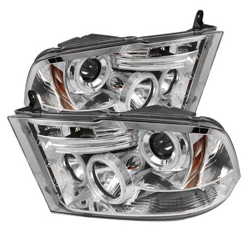 Spyder Auto Dodge Ram 1500 Chrome Ccfl Led Projector Headlight