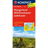 Wangerland - Wilhelmshaven - Jadebusen: Fahrradkarte. GPS-genau. 1:70000 (KOMPASS-Fahrradkarten Deutschland)