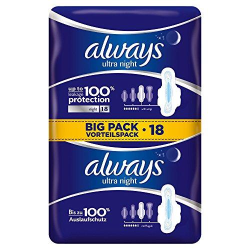 always-ultra-night-binden-mit-fluegeln-vorteilspack-4er-pack-4-x-18-stueck