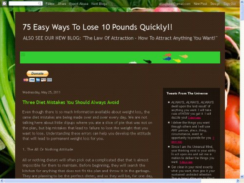 75 Easy Ways To Lose 10 Pounds Quickly!