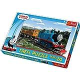 Trefl Puzzle Smiling Locomotive Thomas and Friends (24 Pieces)
