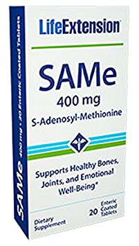 Life Extension SAM E 400 Mg, 20 tablets