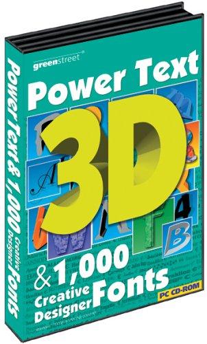 Greenstreet PowerText 3D & 1000 Fonts (PC)