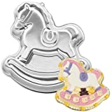 Wilton Cake Pan: Rocking Horse (2105-2388, 1984)
