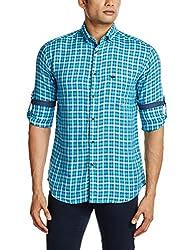 Park Avenue Men's Casual Shirt (8907117081330_PCSY00767-B5_44_Medium Blue)