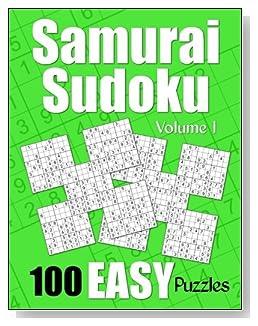 Samurai Sudoku Easy Puzzle Book - Volume 1