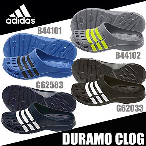 [アディダス] adidas サンダル デュラモ クロッグ B22796 B22796 (ナイトネイビー/グレー/ミッドナイトグレー F15/27.5)