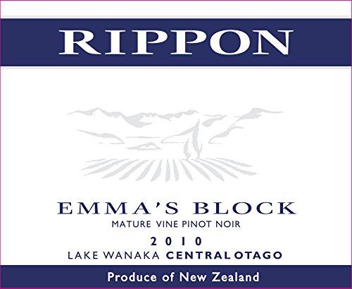 "2010 Rippon ""Emma'S Block"" Mature Vine Pinot Noir, Central Otago, 750 Ml"
