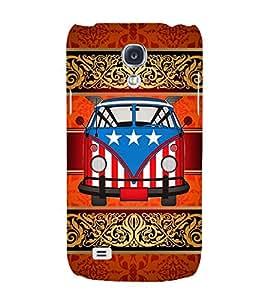 American Van Indian Art 3D Hard Polycarbonate Designer Back Case Cover for Samsung Galaxy S4