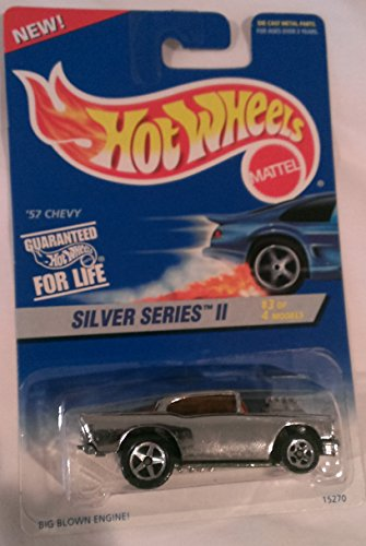 Mattel Hot Wheels Silver Series 2 3 of 4 57 Chevy 422
