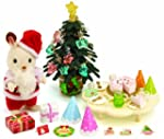 Sylvanian Families Christmas Party Set