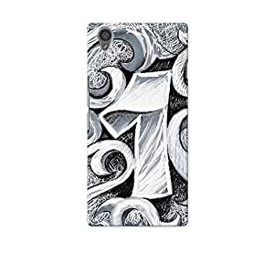 ArtzFolio One Number Tattoo Art : OnePlus X Matte Polycarbonate Original Branded Mobile Cell Phone Designer Hard Shockproof Protective Back Case Cover Protector