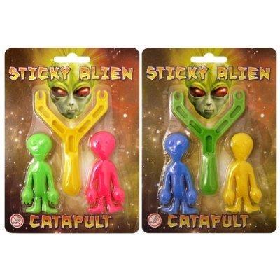 Alien Sling Shot - Sticky Alien Catapult