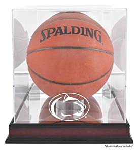 Penn State Nittany Lions Basketball Display Case | Details: Mahogany Base, Antique... by Mounted Memories