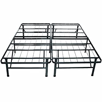 New Beds Sleep Master Platform Metal Bed Frame Mattress Foundation Queen