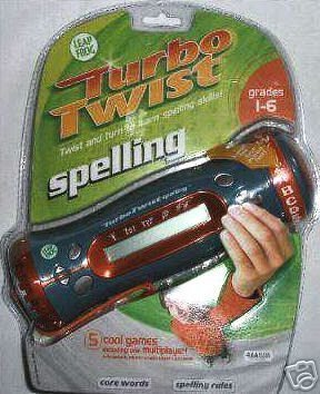 Turbo Twist Leap Frog Spelling. - 1