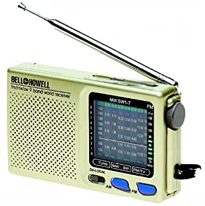 9 BAND World Radio By Bell and & Howell