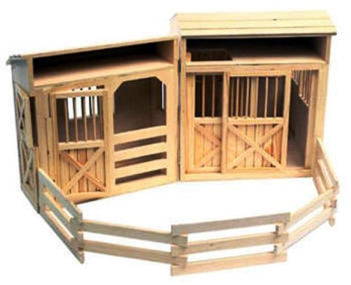 Melissa & Doug Folding Horse Stable