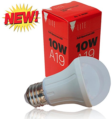A19 Led Bulb, 75W Replacement, 780Lm, Super Bright, The Best Brand In Advanced Led Technology Led Light Bulbs, 2700K Warm White, Long Life Led Light Bulb (30,000 Hrs Or 27.4Yrs), Efficient, Eco Friendly Led Bulb, Instant On Led Chips By V-Lite Usa