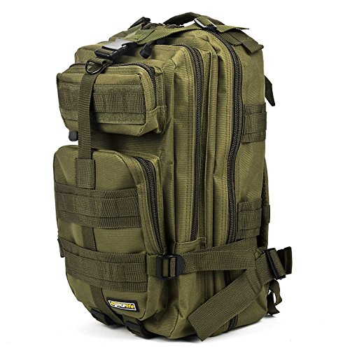 Sport Outdoor Military Rucksacks Tactical Molle Backpack Cam