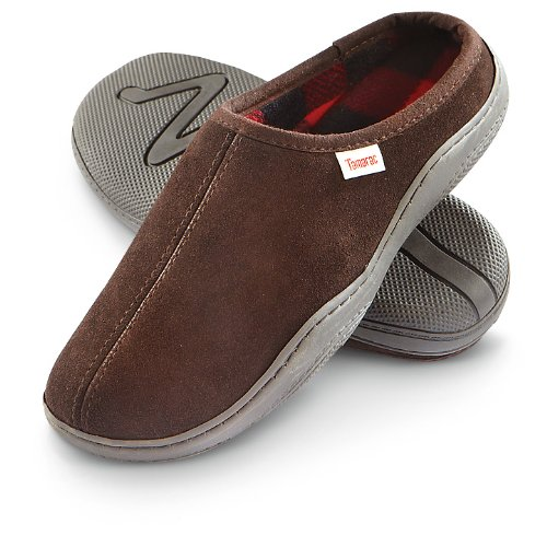 Tamarac by Slippers International Men's 8117PF Irish Clog Slipper,Rootbeer,9 M US