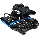 Huntmic Fast Usb Dock Station For Ps3/Player Station 3 Controller Usb 2 In 1 Dual Charging Gamepad Charger For Ps3 Game Sticks