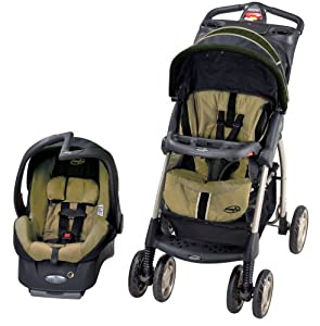 Evenflo Aura Elite Travel System - Greenville