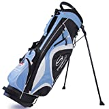 Stewart Golf Superlight Stand Bag - Black/Blue