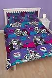 Monster High Beasties Double Rotary Duvet Set