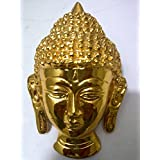Si Diesel Brass Statue Buddha Head Idol